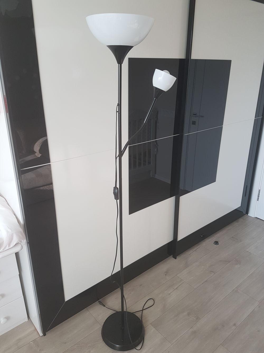 торшер икеа Ikea нут лампа для чтения черный обеспечивает общее и