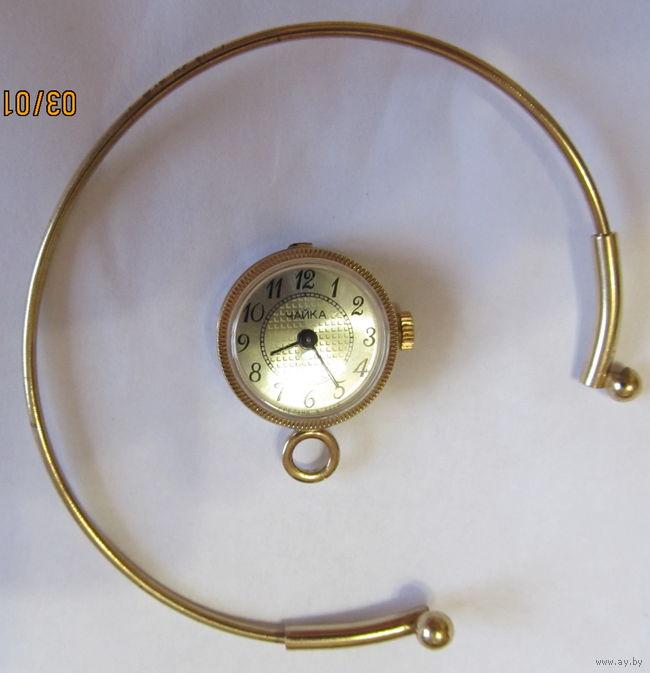 золотые советские часы
