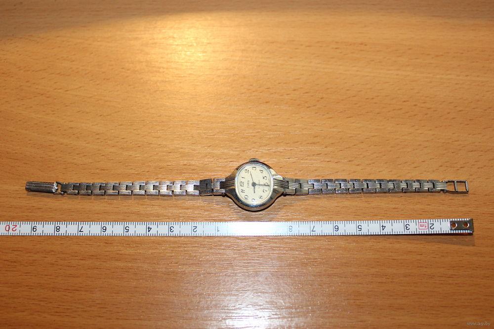 ef55e8b6 Механические, женские часы ЗАРЯ, 17 камней, рабочие. сделано в СССР ...