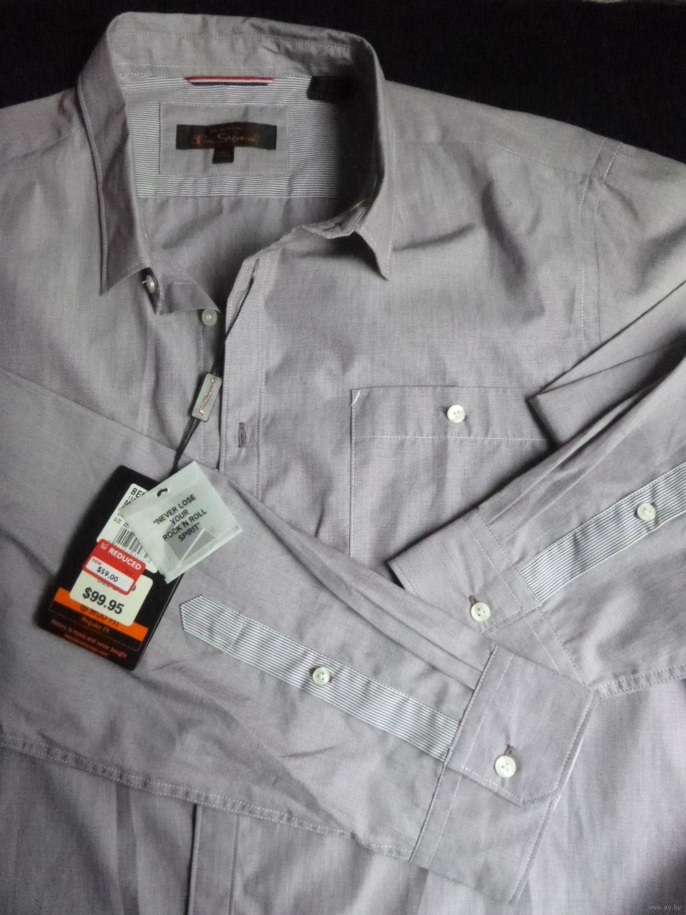 9858514f300 Рубашка мужская (новая) Ben Sherman