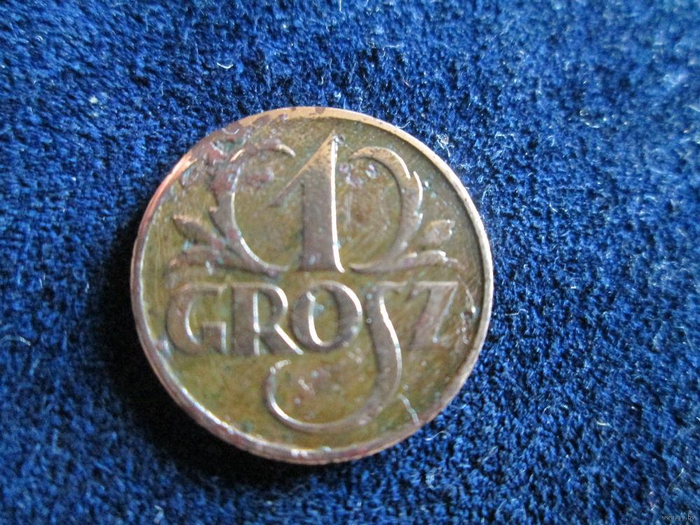 Цена один грош 1927 характеристики монеты россии