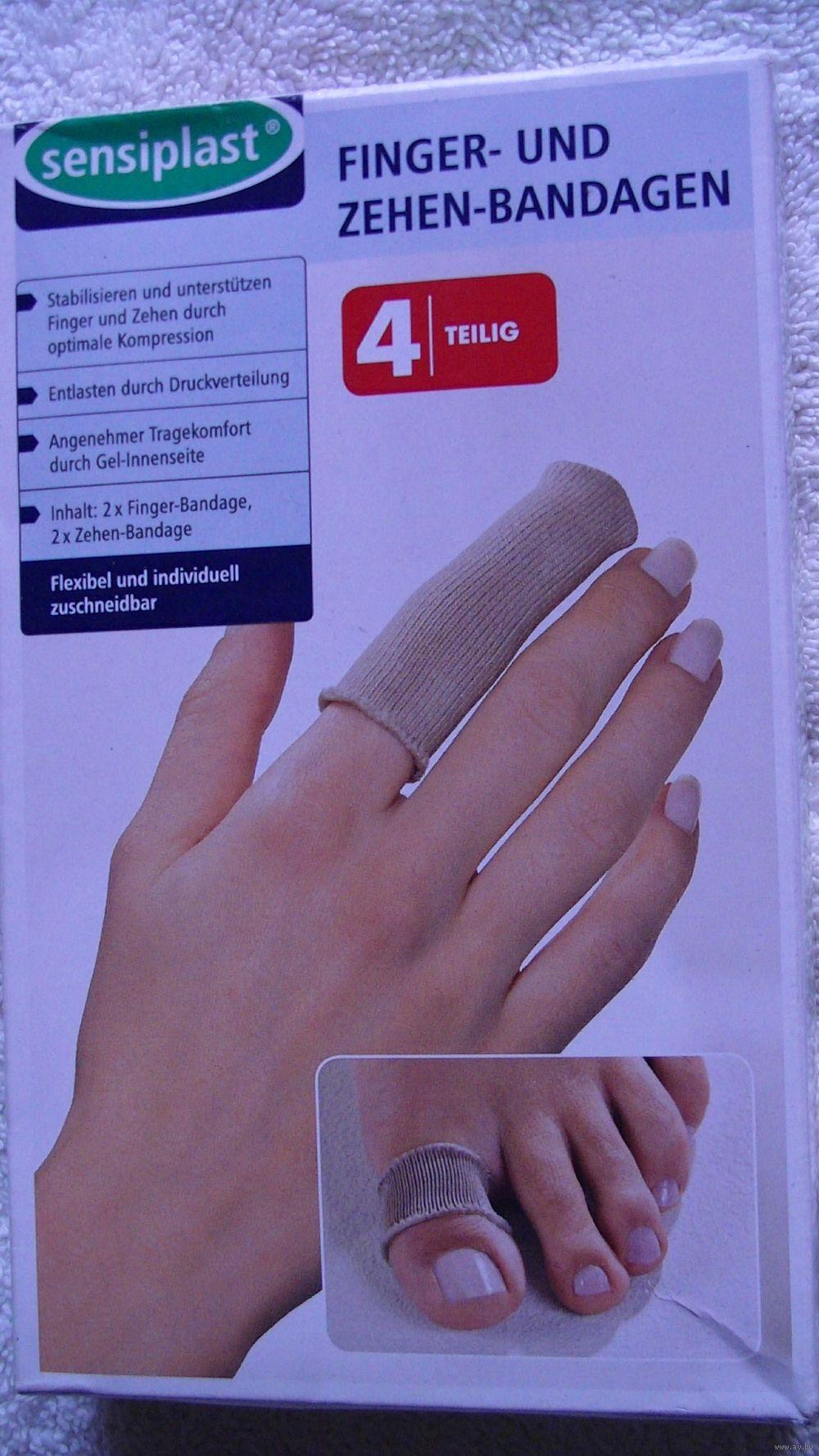 Бандаж на палец руки маникюр